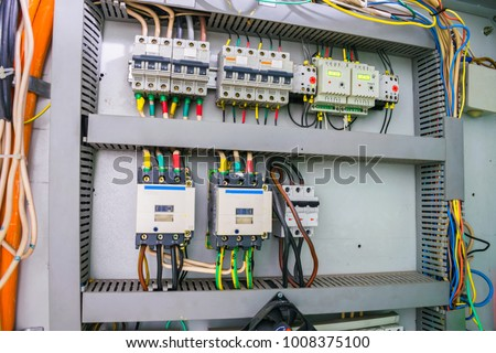 Cool Fuse Box Electric Relay Automatic Machines Stock Photo Edit Now Letkol Mohammedshrine Wiring Cloud Letkolmohammedshrineorg