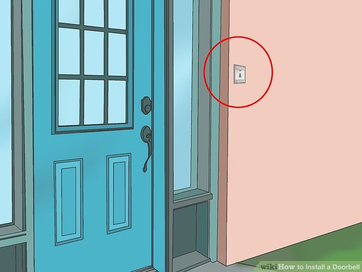 Astounding How To Install A Doorbell 11 Steps With Pictures Wikihow Letkol Mohammedshrine Wiring Cloud Letkolmohammedshrineorg