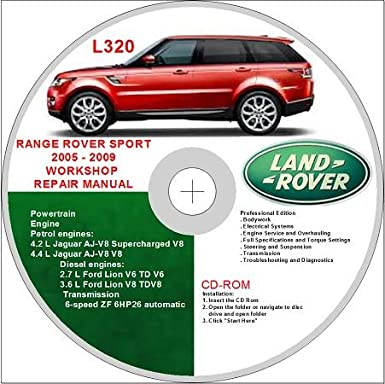 Excellent Land Rover Range Rover Sport L320 2005 2009 Workshop Repair Manual Letkol Mohammedshrine Wiring Cloud Letkolmohammedshrineorg