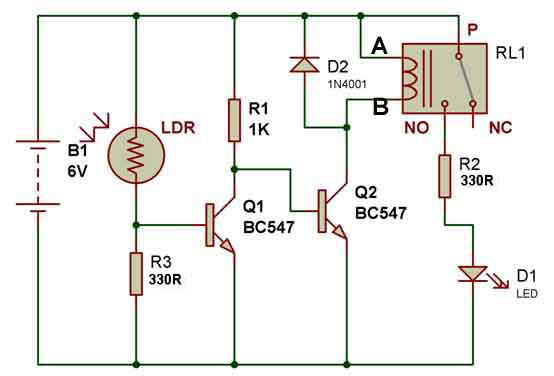 Cool How To Use A Relay Buildcircuit Electronics Letkol Mohammedshrine Wiring Cloud Letkolmohammedshrineorg
