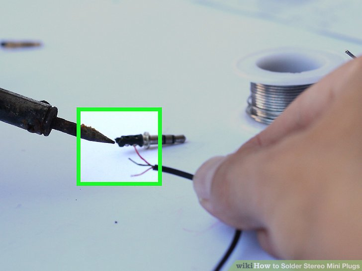 Amazing How To Solder Stereo Mini Plugs 8 Steps With Pictures Wikihow Letkol Mohammedshrine Wiring Cloud Letkolmohammedshrineorg