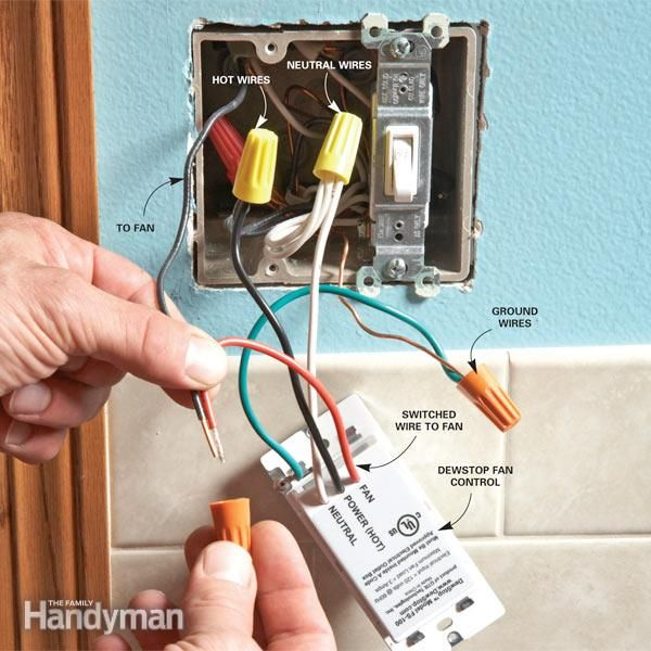 Tremendous Prevent Mold With The Dewstop Fan Switch Electrician Diy Home Letkol Mohammedshrine Wiring Cloud Letkolmohammedshrineorg