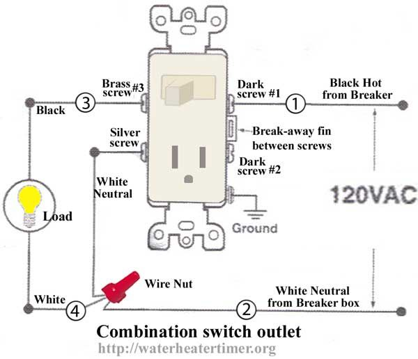 Super How To Wire Switches Combination Switch Outlet Light Fixture Turn Letkol Mohammedshrine Wiring Cloud Letkolmohammedshrineorg