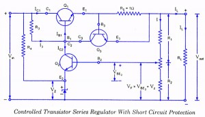 Tremendous Controlled Transistor Series Regulator With Overload And Short Letkol Mohammedshrine Wiring Cloud Letkolmohammedshrineorg