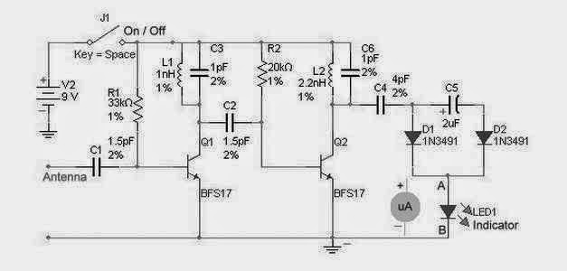 Amazing Rf Detector Circuit For High Frequency Supreem Circuits Diagram Letkol Mohammedshrine Wiring Cloud Letkolmohammedshrineorg
