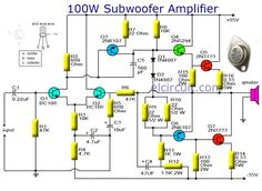 Terrific 121 Best Power Subwoofer Circuits Images In 2019 Powered Subwoofer Letkol Mohammedshrine Wiring Cloud Letkolmohammedshrineorg