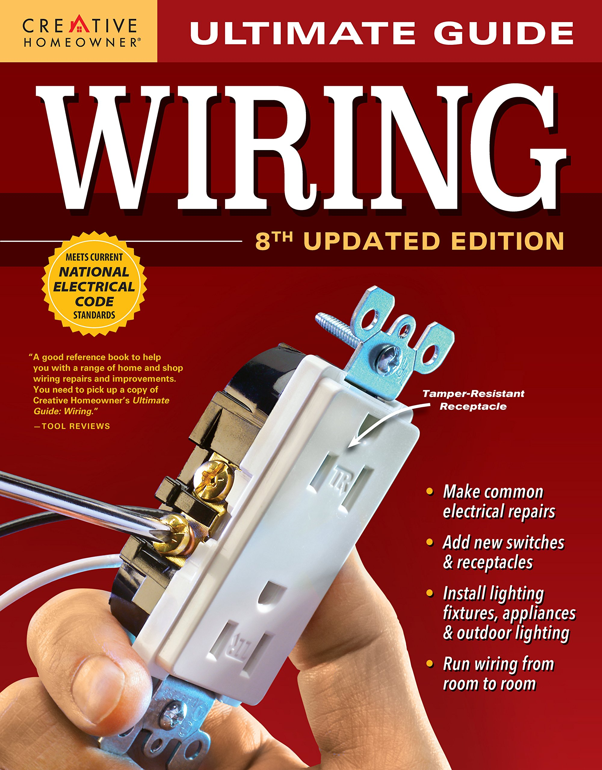 Surprising Ultimate Guide Wiring 8Th Updated Edition Creative Homeowner Diy Letkol Mohammedshrine Wiring Cloud Letkolmohammedshrineorg
