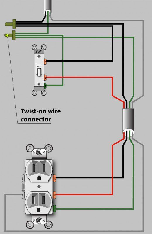 Incredible An Electrician Explains How To Wire A Switched Half Hot Outlet Letkol Mohammedshrine Wiring Cloud Letkolmohammedshrineorg