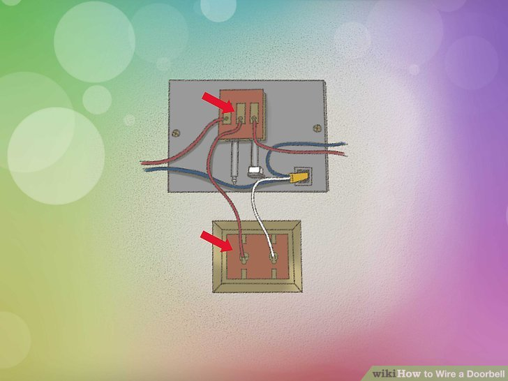 Sensational How To Wire A Doorbell With Pictures Wikihow Letkol Mohammedshrine Wiring Cloud Letkolmohammedshrineorg